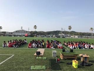 日章学園サッカー部とリズムジャンプ!!