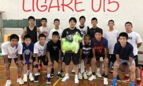 LIGARE U15 福岡遠征事前練習