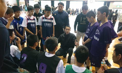 LIGARE  U13 西福岡中学校に遠征
