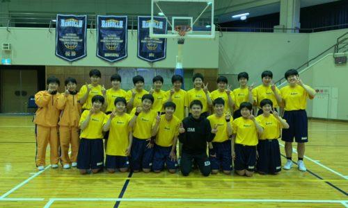 東海第五女子バスケット部にリズムジャンプ‼️