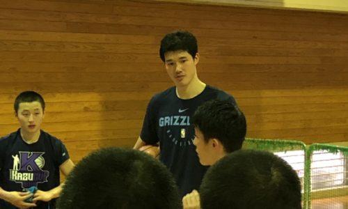 NBAプレイヤー渡邊雄太選手に会ってきました!!!!